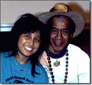 Photo of Karen Sabog and Uncle George