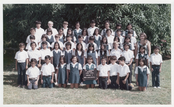 st joseph school waipahu hawaii class of 1978 5th grade class photo. Black Bedroom Furniture Sets. Home Design Ideas